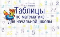 Елена Нефедова, Ольга Узорова. Таблицы по математике для начальной школы