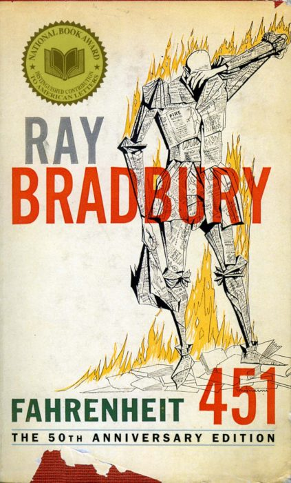 a comparison of fahrenheit 451 by ray bradbury and lord of the flies by william golding
